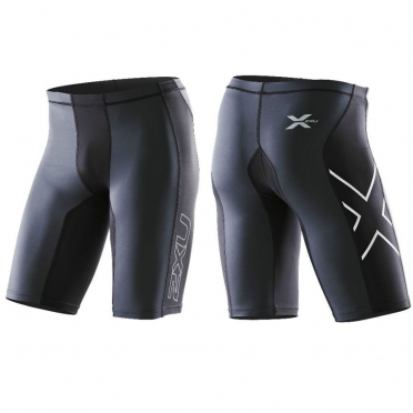 2XU Elite Compression short heren zwart MA1934b