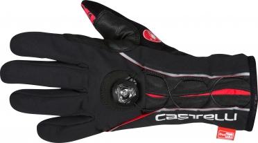 Castelli BOA glove winterhandschoen heren zwart/rood 16533-010