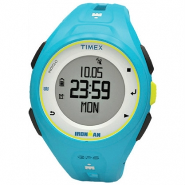 Timex Ironman sporthorloge Run x20 GPS Bright Blue TW5K87600