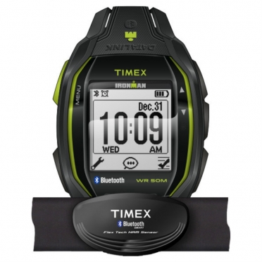 Timex Ironman Run X50+ HRM Trainingshorloge TW5K88000 Weekendaktie