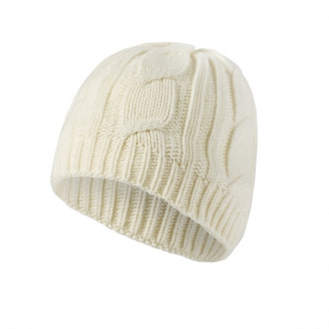 Sealskinz Waterproof Cable Knit Beanie muts creme