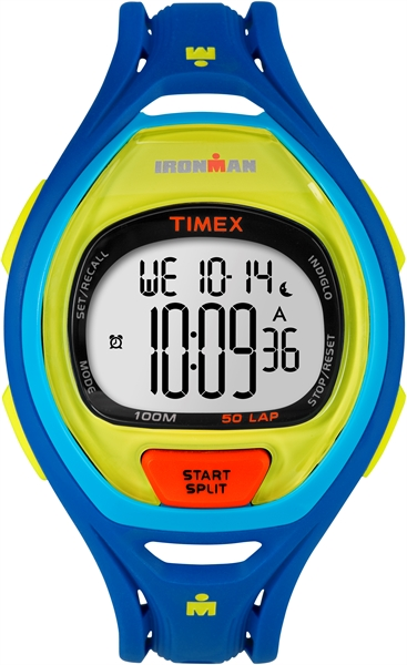 Timex Sleek 50 Color Block Blue