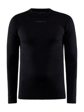 Craft Pro Wool Extreme X lange mouw ondershirt zwart heren