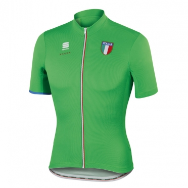 Sportful Italia CL fietsshirt groen heren