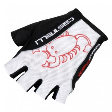 Castelli Rosso corsa classic glove zwart/wit heren 13032-101 2015