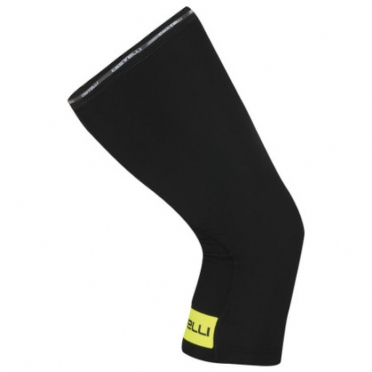 Castelli Thermoflex kneewarmer kniewarmers zwart/geel 14041-321 2015