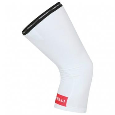 Castelli Thermoflex kneewarmer kniewarmers wit/rood 14041-231 2015
