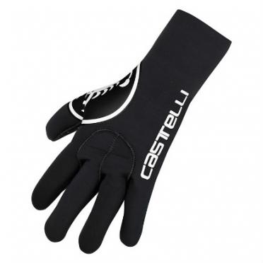 Castelli Diluvio glove zwart 14536-010