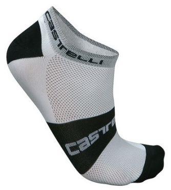 Castelli fietssokken Lowboy sock wit 7069-001