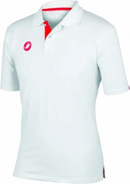 Castelli race day polo wit heren 13096-001