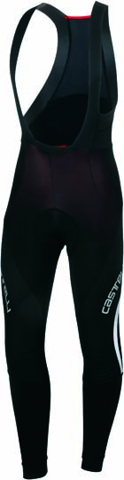 Castelli Sorpasso WIND bibtight heren zwart/wit 13521-101