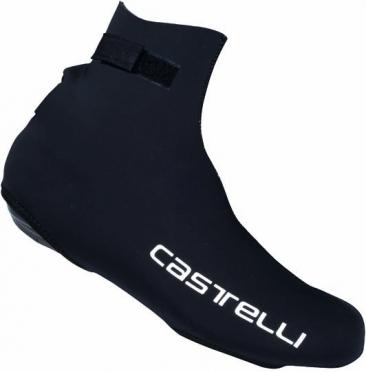Castelli Diluvio overschoen zwart/CA tekst heren 14537-110