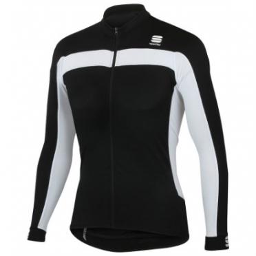 Sportful Pista fietsshirt lange mouwen zwart heren