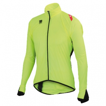 Sportful hot pack 5 jacket heren geel fluo/zwart 01135-091 2014