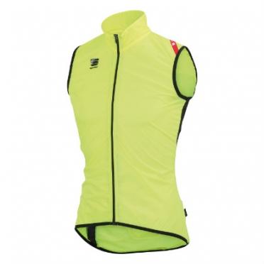 Sportful Hot pack 5 vest geel fluo/zwart heren