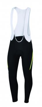 Sportful Gruppetto bibtight zwart/geel/rood heren