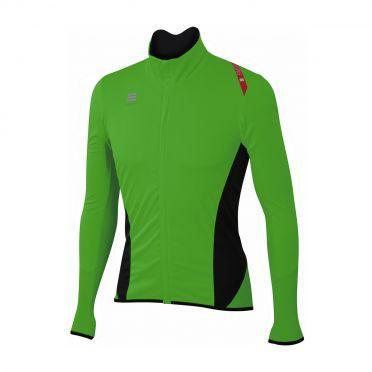 Sportful Fiandre light no-rain lange mouw jacket groen heren