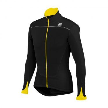 Sportful Force Thermal Jersey zwart-geel heren 01276-091