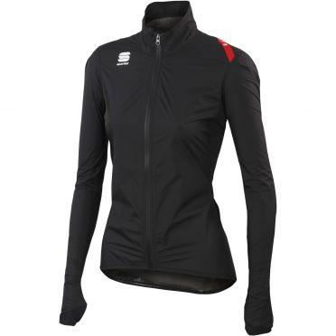 Sportful Hotpack Norain Fietsjack zwart dames 01338-002