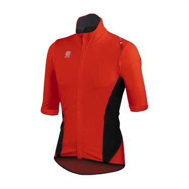 Sportful Fiandre Light Norain Short sleeve fietshirt rood heren