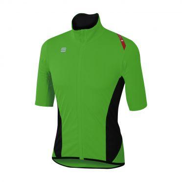 Sportful Fiandre light norain korte mouw fietshirt groen heren