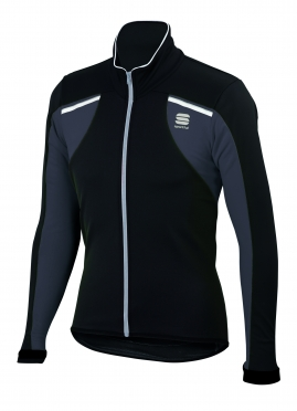Sportful Alpe 2 Softshell Jacket zwart-wit heren 01399-002