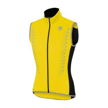 Sportful Hotpack Hi Viz mouwloos vest fluo geel heren