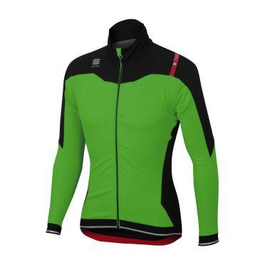 Sportful Fiandre No-Rain Jacket groen/zwart heren