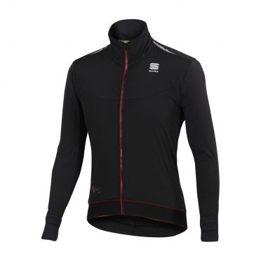 Sportful R&D light fietsjack zwart heren