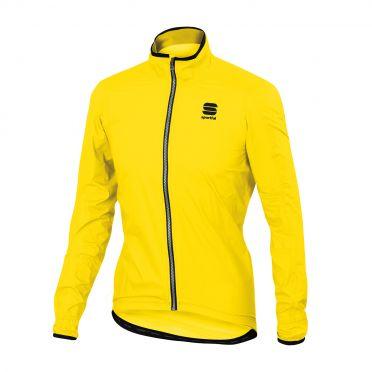 Sportful Stelvio lange mouw jacket fluo geel heren