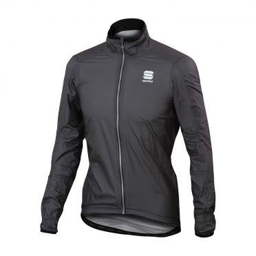 Sportful Stelvio lange mouw jacket antraciet heren