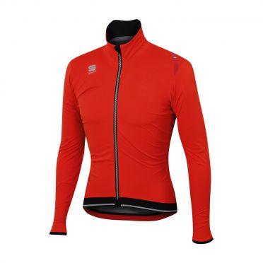Sportful Fiandre ultimate WS lange mouw jacket rood/zwart heren