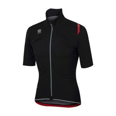 Sportful Fiandre ultimate WS korte mouw jacket zwart heren