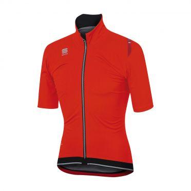 Sportful Fiandre ultimate WS korte mouw jacket rood/zwart heren