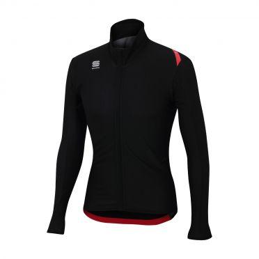 Sportful Fiandre light wind lange mouw jacket zwart heren