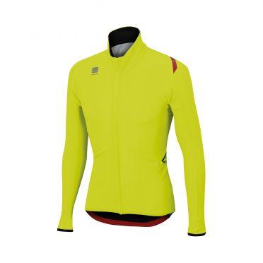 Sportful Fiandre light wind lange mouw jacket geel heren