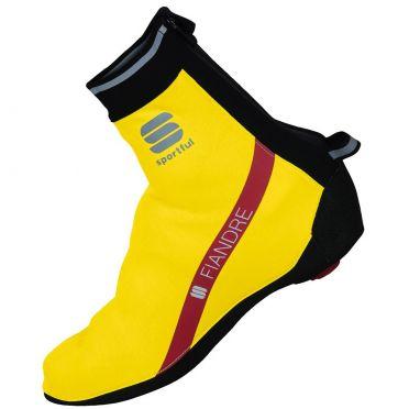 Sportful Fiandre WS overschoen fluo geel heren