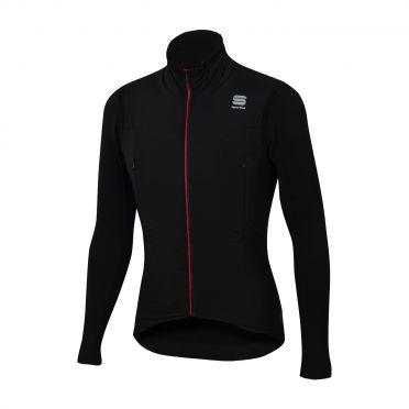 Sportful R&D strato lange mouw jacket zwart heren