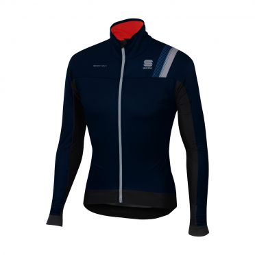 Sportful Bodyfit pro thermal lange mouw jacket zwart/blauw heren