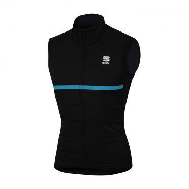 Sportful Giara thermal mouwloos vest zwart/blauw heren