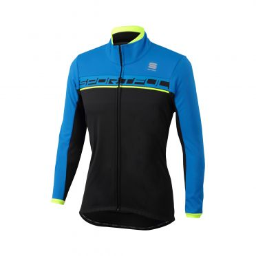 Sportful Giro softshell jacket zwart/blauw heren