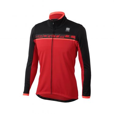 Sportful Giro softshell jacket rood/zwart heren
