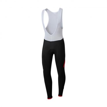 Sportful Giro bibtight zwart/rood heren