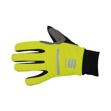 Sportful Polar glove fietshandschoenen fluo geel/zwart heren