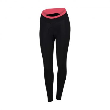 Sportful Luna thermal tight zwart/roze dames