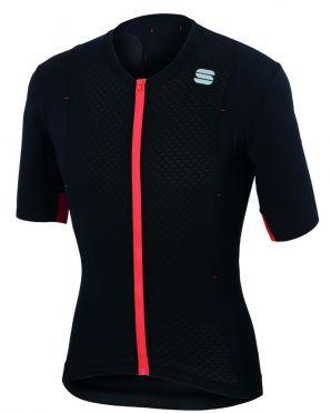 Sportful R&D celsius jersey korte mouw fietsshirt zwart heren