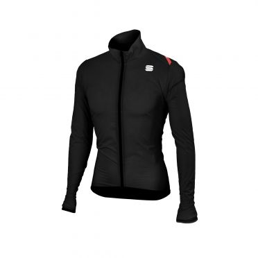Sportful Hot pack 6 lange mouw jacket zwart heren