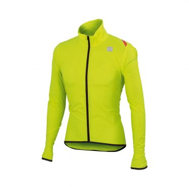 Sportful Hot pack 6 lange mouw jacket geel heren