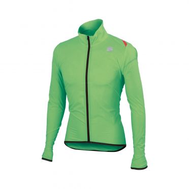Sportful Hot pack 6 lange mouw jacket groen heren