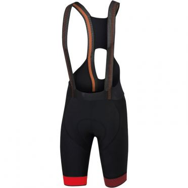 Sportful Bodyfit pro ltd bibshort zwart/rood heren